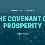 The Covenant of Prosperity. Part 2