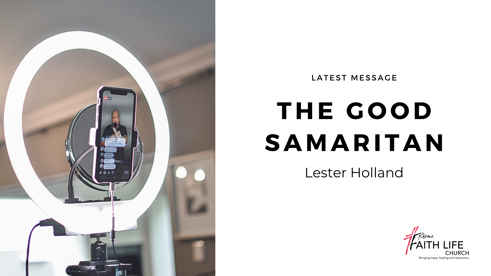 The Good Samaritan | Lester Holland