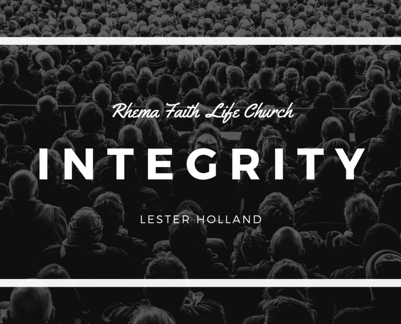 Integrity. Part 2